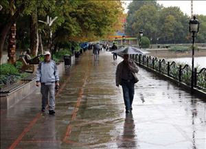 ورود سامانه جدید بارشی به استان از امشب/ باران و برف در راه است