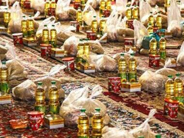 توزیع ۵۰۰ بسته غذایی توسط آستان قدس رضوی در بناب