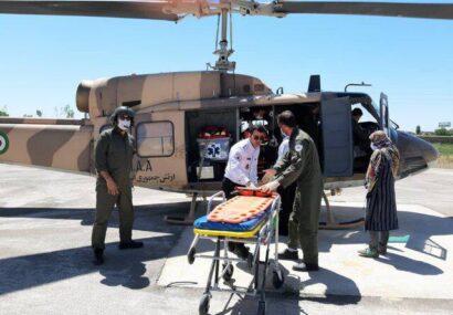 سقوط کودک بنابی از پله، بالگرد اورژانس را به پرواز درآورد