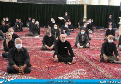 مراسم عزاداری شهادت امام جعفر صادق (ع) در بناب برگزار شد+ تصاویر
