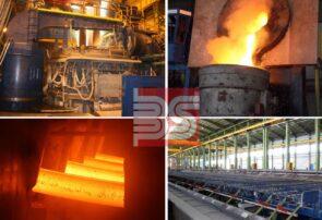 شكست ركورد توليد ماهيانه در مجتمع فولاد صنعت بناب