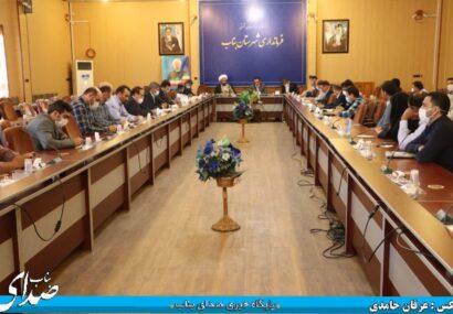 جلسه بررسی مشکلات روستاهای شهرستان بناب برگزار شد+تصاویر