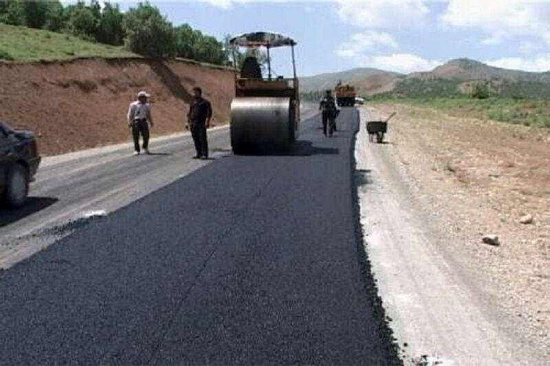 بهسازی و روکش آسفالت ۱۱ راه شریانی آذربایجانشرقی