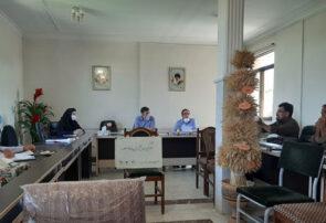 تشکیل جلسه کارگروه کنترل آبیاری مزارع کشاورزی با فاضلاب در شهرستان بناب