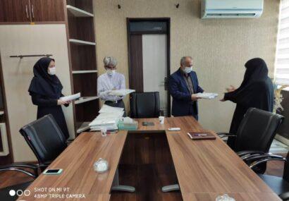 مراسم تجلیل از بانوان شاغل در شهرداری بناب برگزار شد+ تصاویر/ شهردار بناب: توجه ویژه شهرداری به پروژه های فرهنگی