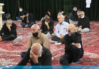 آیین سوگواری شهادت امام جواد(ع) در مصلی بناب برگزار شد+ تصاویر