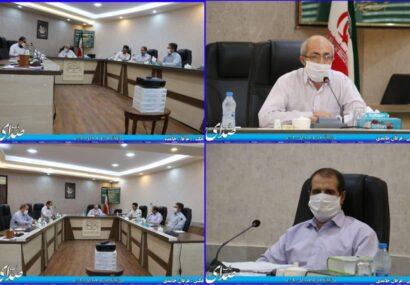 دومین جلسه شورای اسلامی شهر بناب با حضور ۶ تن از اعضای شورای اسلامی شهر