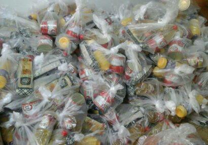 توزیع ۲۰۰ بسته غذایی در بناب