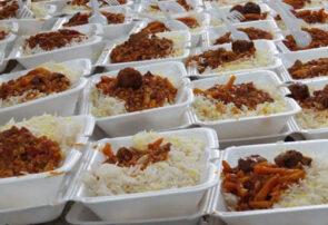 پخت ۷ هزار وعده غذای گرم در بناب