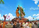در آستانه فرا رسیدن عید سعید غدیر، بزرگترین دیوارنگاره کشور با شعار «به غایبان برسانید» رونمای شد.