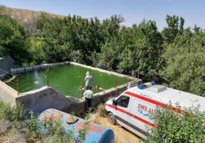 غرق شدن جوان ۳۷ ساله در استخر باغات اطراف شهرستان بناب