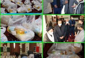 تهیه و توزیع ۶۰۰ بسته غذایی به ارزش ۱۶۰ میلیون تومان