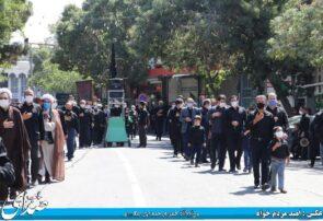 عزاداری باشکوه مردم مومن شهرستان بناب در تاسوعای حسینی+ تصاویر