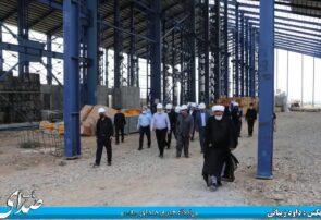 بازدید مدیرعامل شرکت معدنی و صنعتی چادرملو از فولاد ظفر بناب