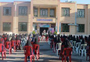 زنگ بازگشایی مدارس در شهرستان بناب به صدا در آمد + تصاویر
