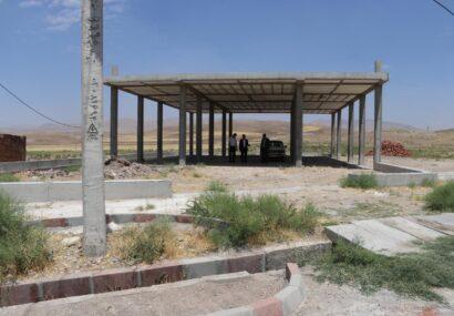 شروع عملیات احداث کتابخانه عمومی در  روستای روشت بزرگ