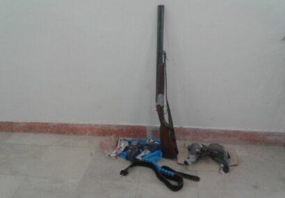 دستگیری متخلفان زنده گیری پرندگان وحشی در بناب
