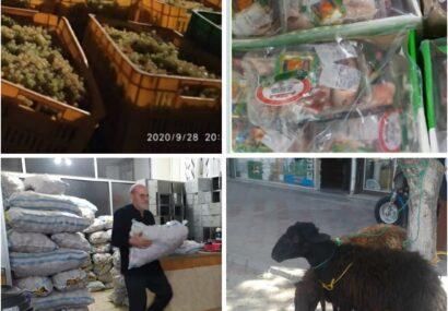 اهدای ۲۰۰ بسته گوشت قربانی میان نیازمندان شهر بناب