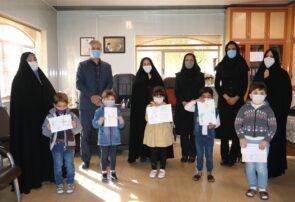 مسابقه نقاشی مجازی در شهرستان بناب برگزار شد+ تصاویر