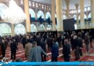 سوگواری مردم مومن بناب همزمان با سالروز شهادت امام رضا (ع) + تصاویر