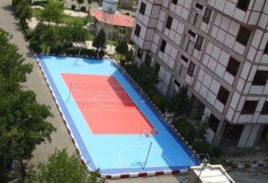 افتتاح زمین ورزشی روباز دانشگاه بناب+ تصاویر