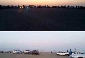 برگزاری بدون مجوز مسابقات مرگبار اتومبیلرانی در بناب