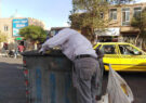 زباله گردی پدیدهای برای سیر کردن شکم خود وخانواده