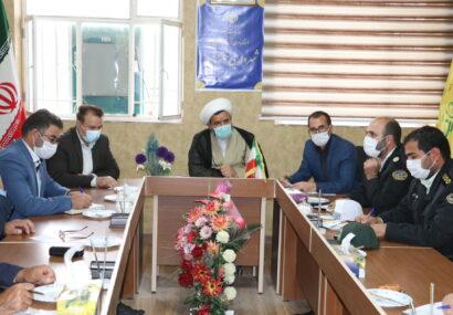 شورای اداری شهر خوشه مهر برگزار شد+تصاویر