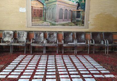 اهدای ۱۱۶ کارت هدیه برای نیازمندان به همت کانون الغدیر بناب