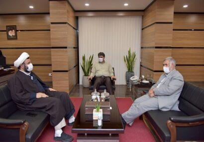 دیدار نماینده مردم  بناب در مجلس با مدیرعامل پست