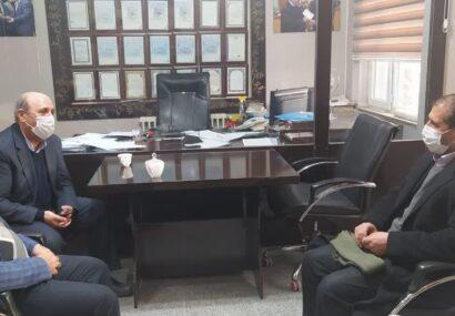 دیدار شهردار بناب با صادر کننده ممتاز کشور