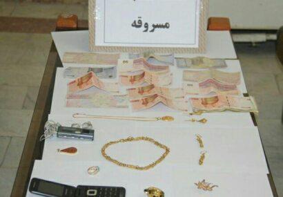 """دستگیری سارق طلا و جواهرات در """"بناب"""""""