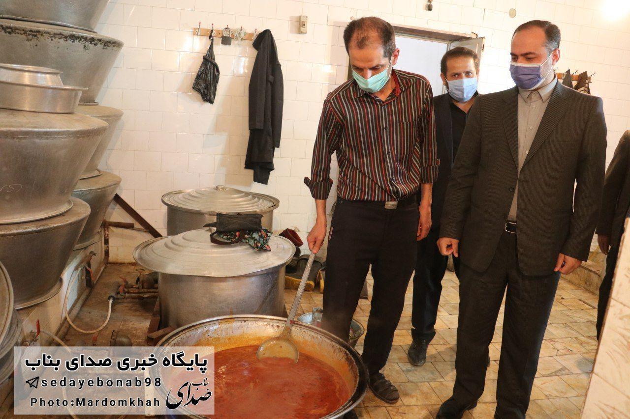 تهیه و توزیع ۳۶ هزار پرس غذای گرم طی ماه رمضان در شهرستان بناب+ تصاویر