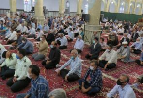 نماز عید قربان در بناب برگزار شد+تصاویر