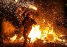 مصدومیت ۶۲ نفر در چهارشنبه آخر سال در آذربایجانشرقی