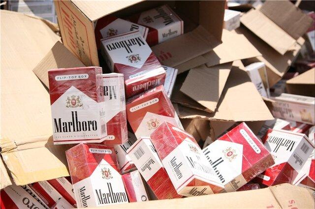 کشف 170 هزار نخ سیگار خارجی قاچاق در بناب