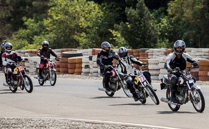 مسابقات بزرگ موتورسواری بناب لغو شد