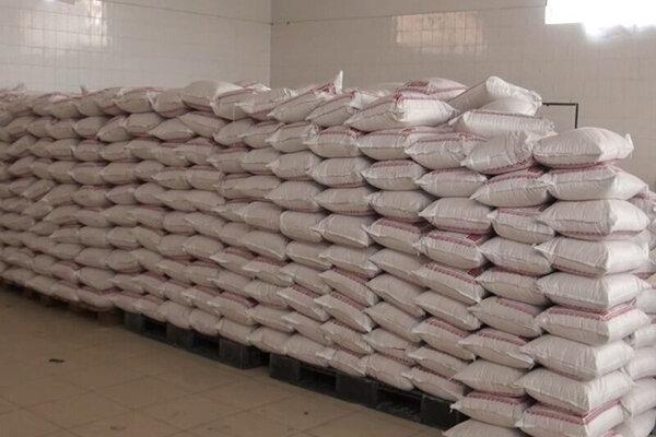 """کشف بیش از 88 تُن آرد قاچاق در""""بناب"""