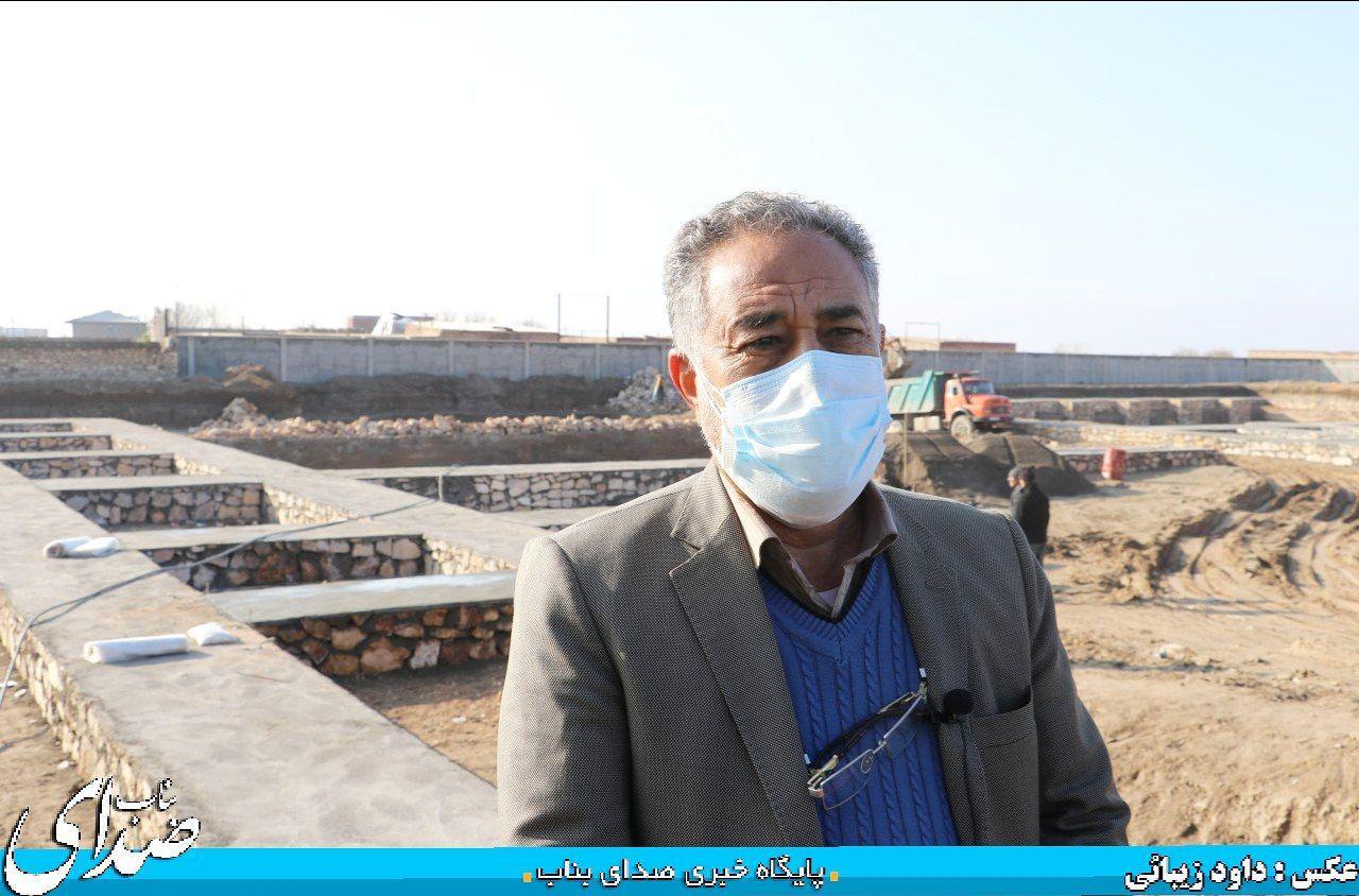 پروژه استخر سرپوشیده  فولاد صنعت بناب در حد استانداردهای جهانی ساخته می شود/ بخشی از این پروژه سال آینده افتتاح و بهره برداری خواهد رسید