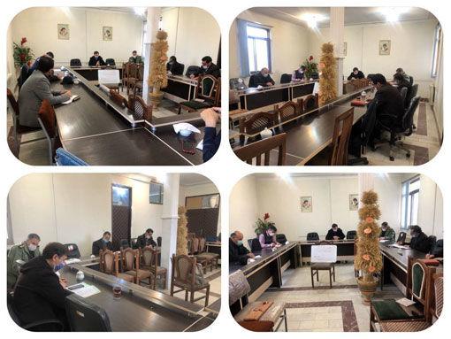برگزاری جلسه قرارگاه امنیت غذایی در شهرستان بناب