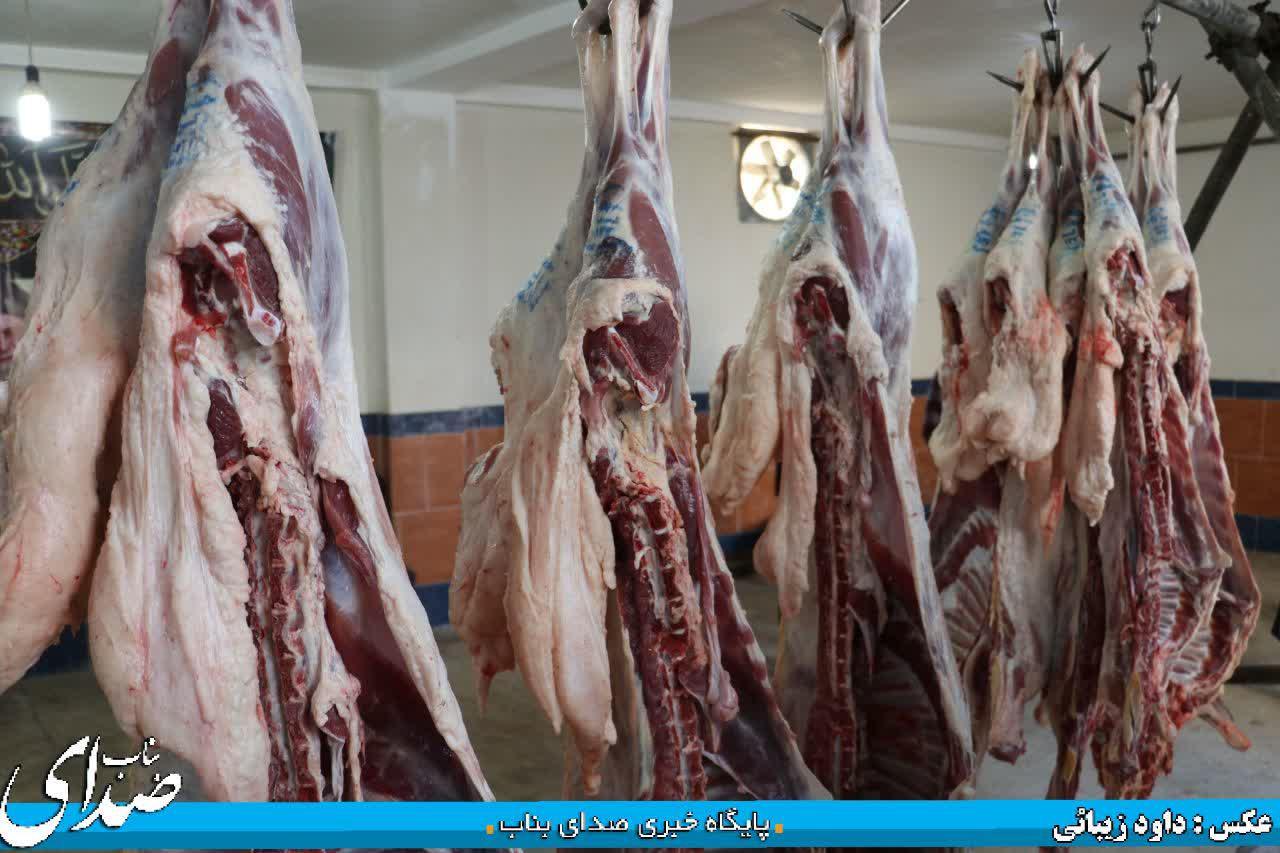 زبح ۱۸ راس گوسفند به همت خیرین روستای قره چپق بناب/ گوشت های نذری بین نیازمندان و متضررین کرونایی در روستا توزیع شد+ تصاویر