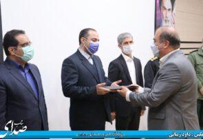 مراسم تودیع و معارفه رئیس شبکه بهداشت شهرستان بناب برگزار شد+ تصاویر/ دکتر نیرپور: کار تیمی اصلی ترین مولفه موفقیت کنترل بیماری کرونا در بناب