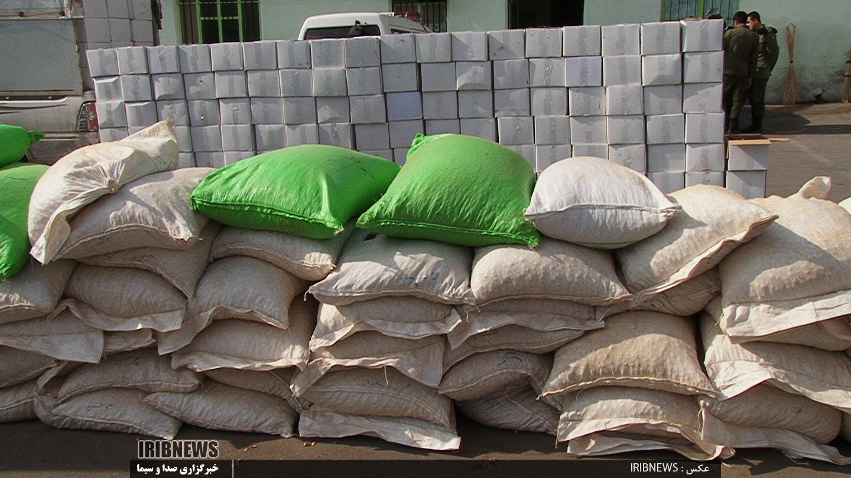 جریمه 2 میلیاردی برای قاچاق بادام در بناب