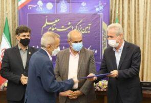 محمد درخشی فرهنگی بنابی شاغل در تبریز به عنوان مدیر نمونه استانی آموزش و پرورش انتخاب شد+ تصاویر