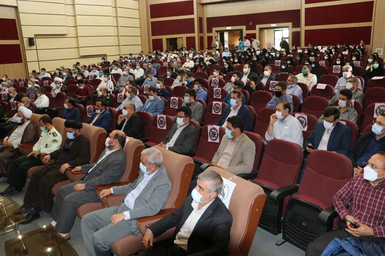 با حضور مسئولان شهرستان بناب مراسم گرامیداشت شهدای 7 تیر در بناب برگزار شد