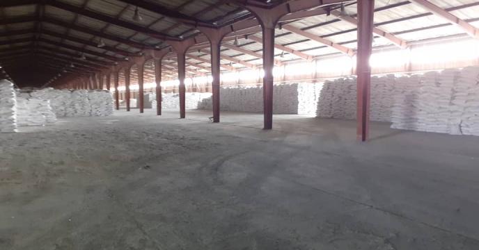 توزیع 10 تن کود شیمیایی سولفات آمونیوم در شهرستان بناب