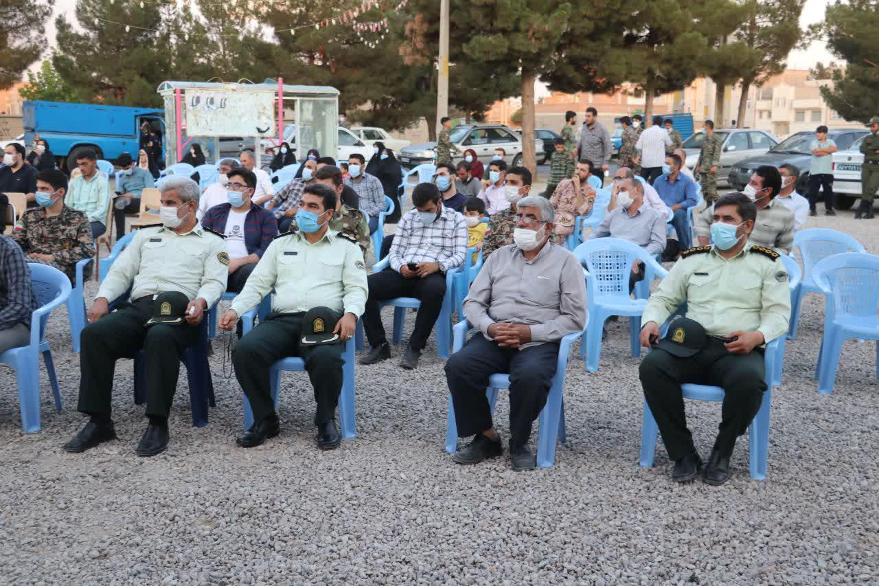 جشن بزرگ غدیر با حضور  مسئولان استان و شهرستان در محله فرهنگیان ۳ مقابل مسجد امام علی علیه السلام برگزار گردید