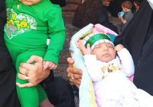 همایش شیرخوارگان حسینی در بناب برگزار شد+ تصاویر
