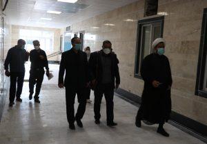 بازدید نماینده مردم بناب به همراه فرماندار بناب از بخش های مختلف بیمارستان امام خمینی ره + تصاویر