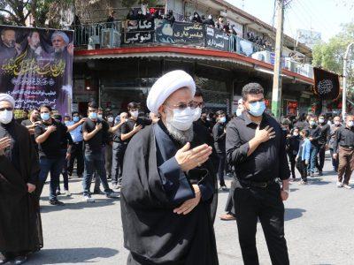 مراسم عزاداری تاسوعای حسینی (علیهالسلام) مردم متدین شهرستان بناب+تصاویر